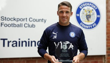 Rooney Rules! County Midfielder Wins Player of the Year Award