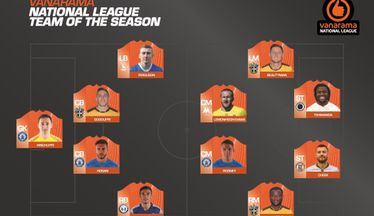Vanarama National League Team of the Season Confirmed!