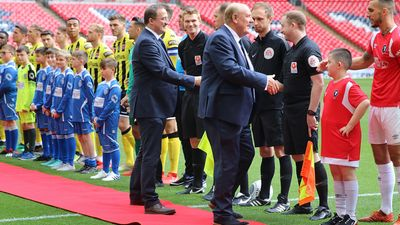 Chairman to Stand Down After National League Promotion Final