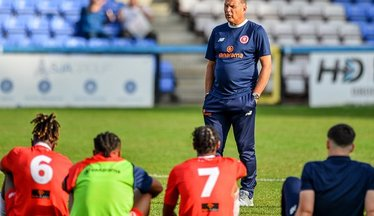 Steve Lovell Exits Welling United's Park View Road