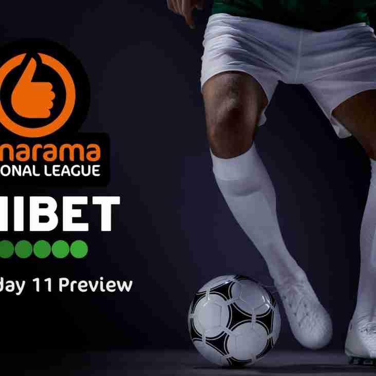 Unibet's Vanarama National League Matchday 11 Preview