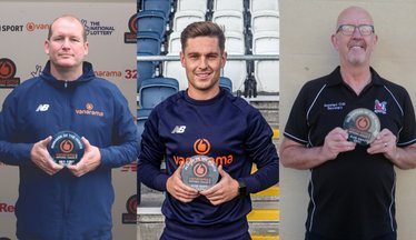 Trio Celebrate August/September National League North Accolades
