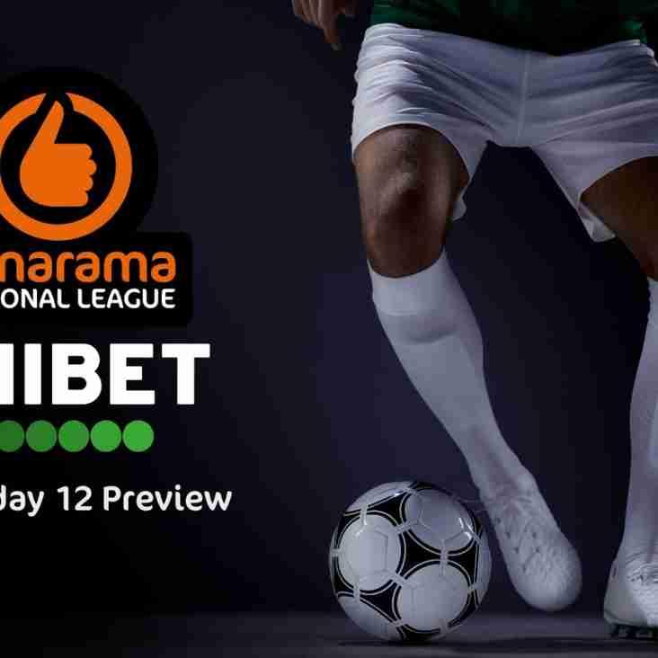 Unibet's Vanarama National League Matchday 12 Preview