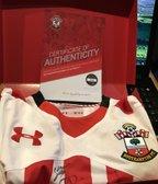 Signed certified Southampton shirt