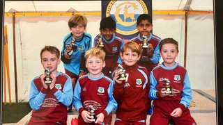 U8 Warriors - Gold Plate Runners Up
