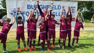 U10 Trojans WIN Burghfield tournament