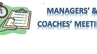 January's Managers meeting 8:15 PM