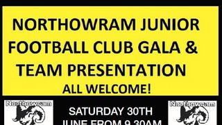 Northowram Juniors Presentation Day and U7 Gala