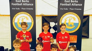 Binfield Pirates u8s Win East Berks League Cup White