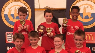 Binfield Raiders u8s Win East Berks League Cup Blue