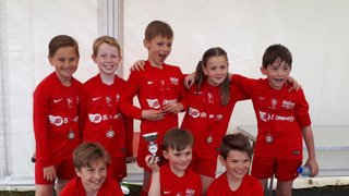 Binfield Pirates u8s Win Division at Binfield Tournament