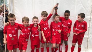 Binfield Raiders u8s Win Division at Binfield Tournament