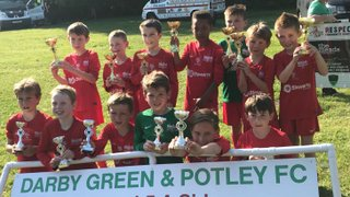 Binfield Raiders u8s Win Darby Green & Potley Tournament
