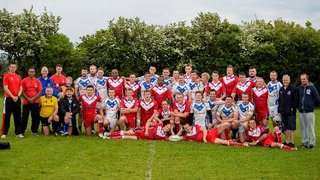 Barrow Island v The Army on 24th May 2014