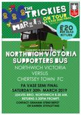 Vics Match Day Travel to Chertsey Town : Sat 30th March