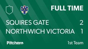 Squires Gate 2 Northwich Vics 1