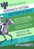Northwich Vics Race Night & Disco : Fri 6th Dec