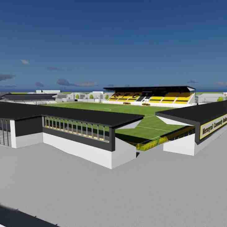 Renovatation Work Now Underway At Southport Stadium