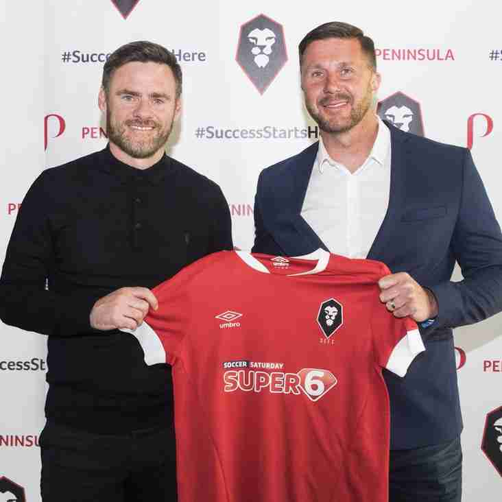 Alexander Knows Of High Expectation Levels At Salford City