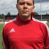 Post match interview with Manager Mickey Weatherall