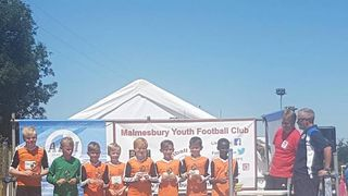 SJFC Under10 Wolves won at Malmesbury 6-a-side tournament