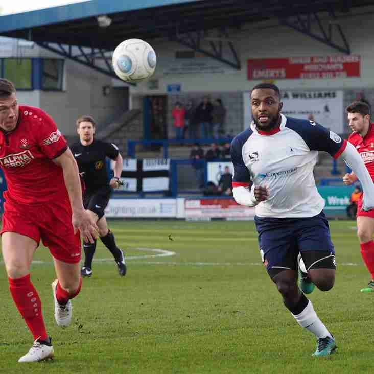 Ebanks-Blake To Leave AFC Telford After 3 Months