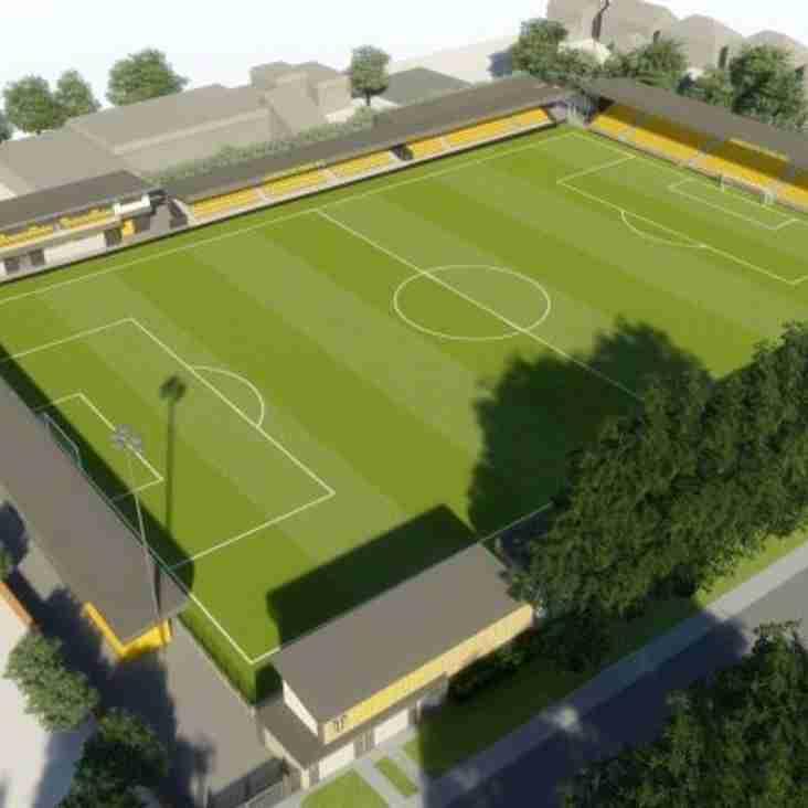 Ground Plans Given The Green Light As Harrogate Aim High