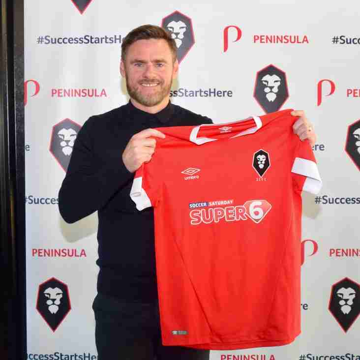 Alexander Is Picked To Lead Salford City Into Their New Era