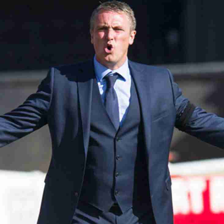 Blyth Play A Blinder As Clark Agrees To Take Spartans Job