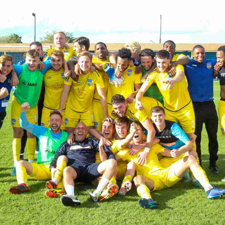 Wonder Wall Sends Concord Rangers To Wembley!
