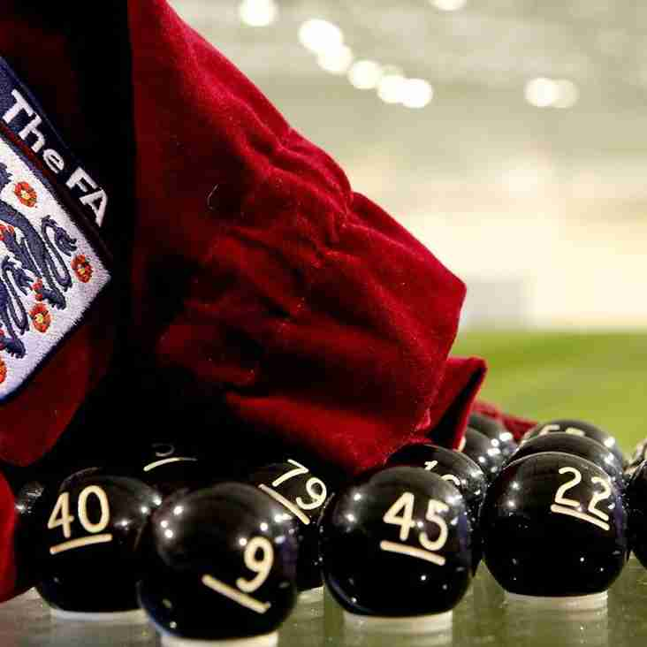 The Draw For The FA Cup First around Has Been Made