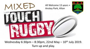 Summer Touch 2019, 22 May to 10 July