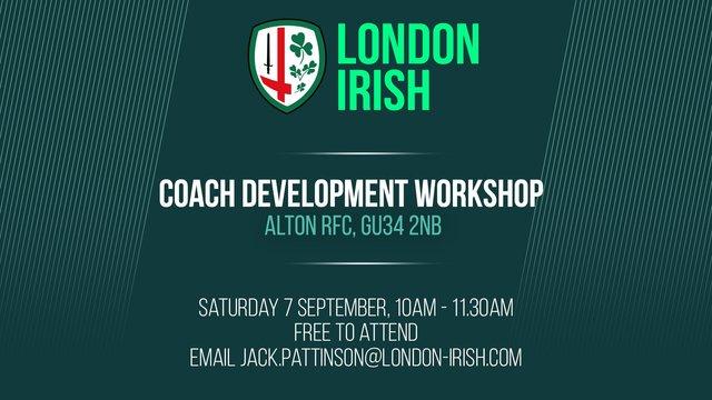 Coach Development Workshop