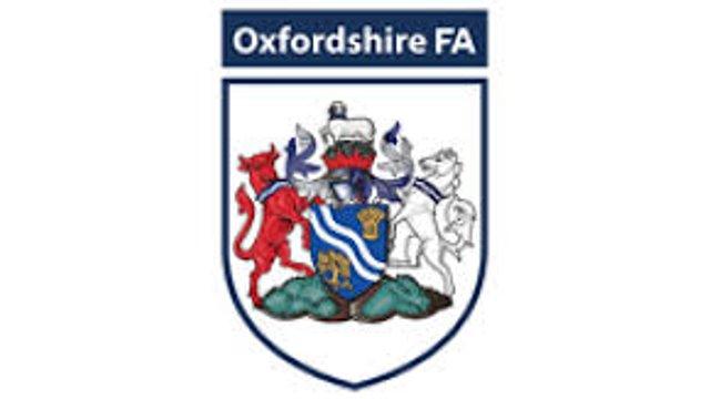 Oxfordshire John Fathers Junior Shield Draw