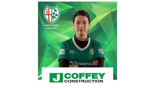 J Coffey Construction support London Irish Ladies
