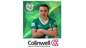Colinwell Concrete sponsor the Emeralds Eimear McQuillan