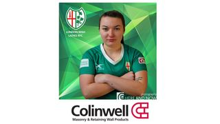 Colinwell Concrete sponsor the Emeralds Eimear McQuillan