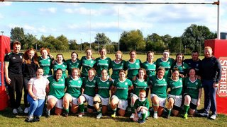 London Irish Ladies convincingly win their 1st League game of the season