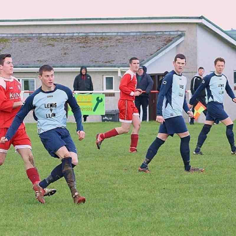 LLan v Hotspurs quarter final Gwynedd Meditel cup 2012/13