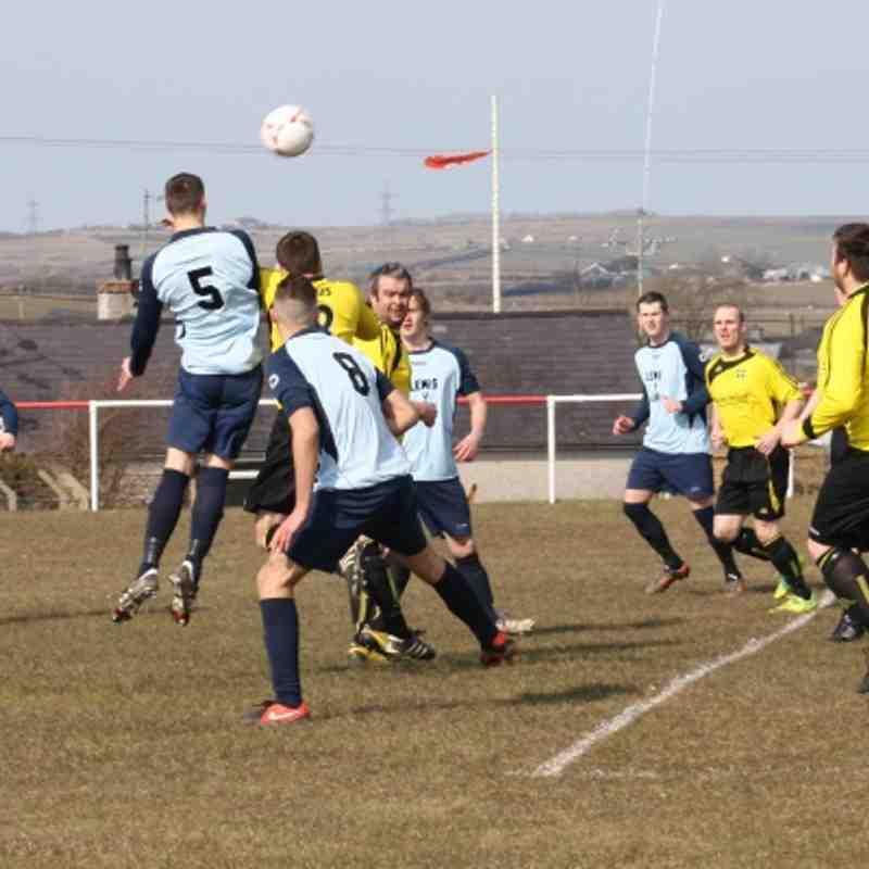 Llan v LLanllyfni gwynedd cup semi final (4-0) 30/03/13