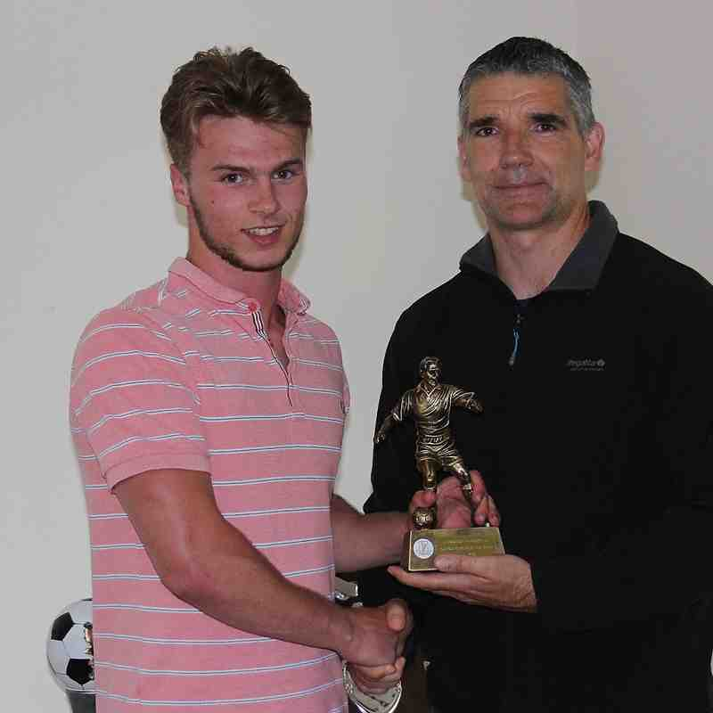 Young Player of the year Callum MacMinimee