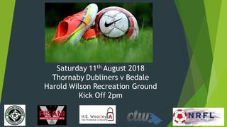 Thornaby Dubliners v Bedale