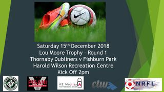 Saturday 15th December 2018