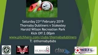 Saturday 23rd February 2019