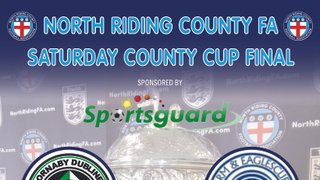 North Riding County Cup Final - Wednesday 20th March