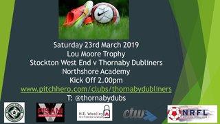 Saturday 23rd March 2019