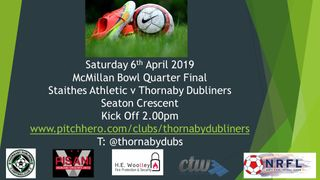 Saturday 6th April 2019