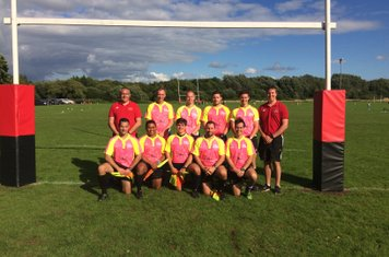 Referees at Old Reds Sevens