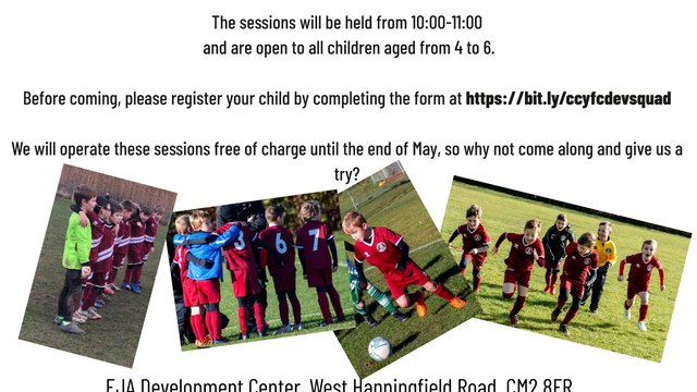 Development squad for 4-6 year olds.