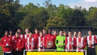 Bury Rangers U16's Whites Win League Shield